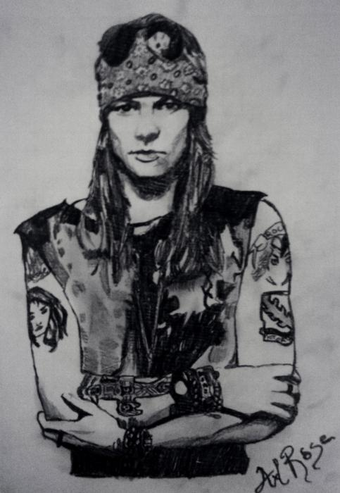 Axl Rose by ivadell